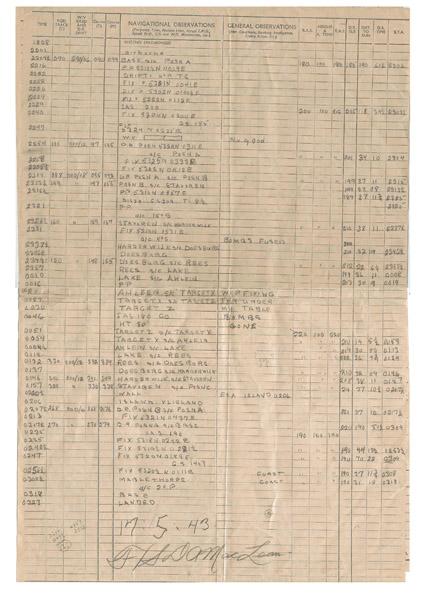 MacLean nav log Page 3