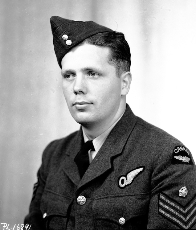Portrait,   F/Sgt. D.A. MacLean, D.F.M.