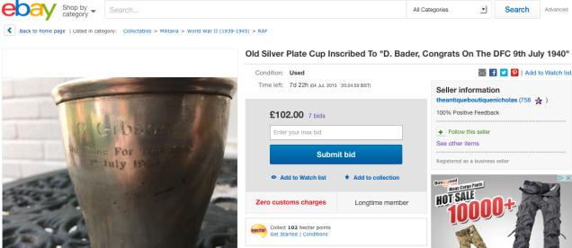 Ebay silver cup