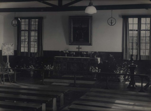 RAF SCAMPTON Chapel in base WWII Revd Don Hulberts
