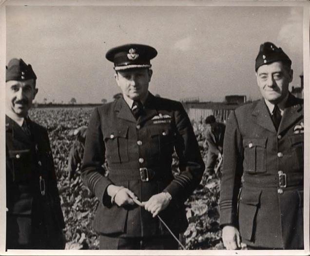 RAF Scampton Group Capt John Whitworth 1942 A