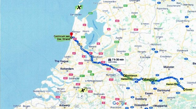 WIS 32, De Pere Corridor Study-Crash Location Map